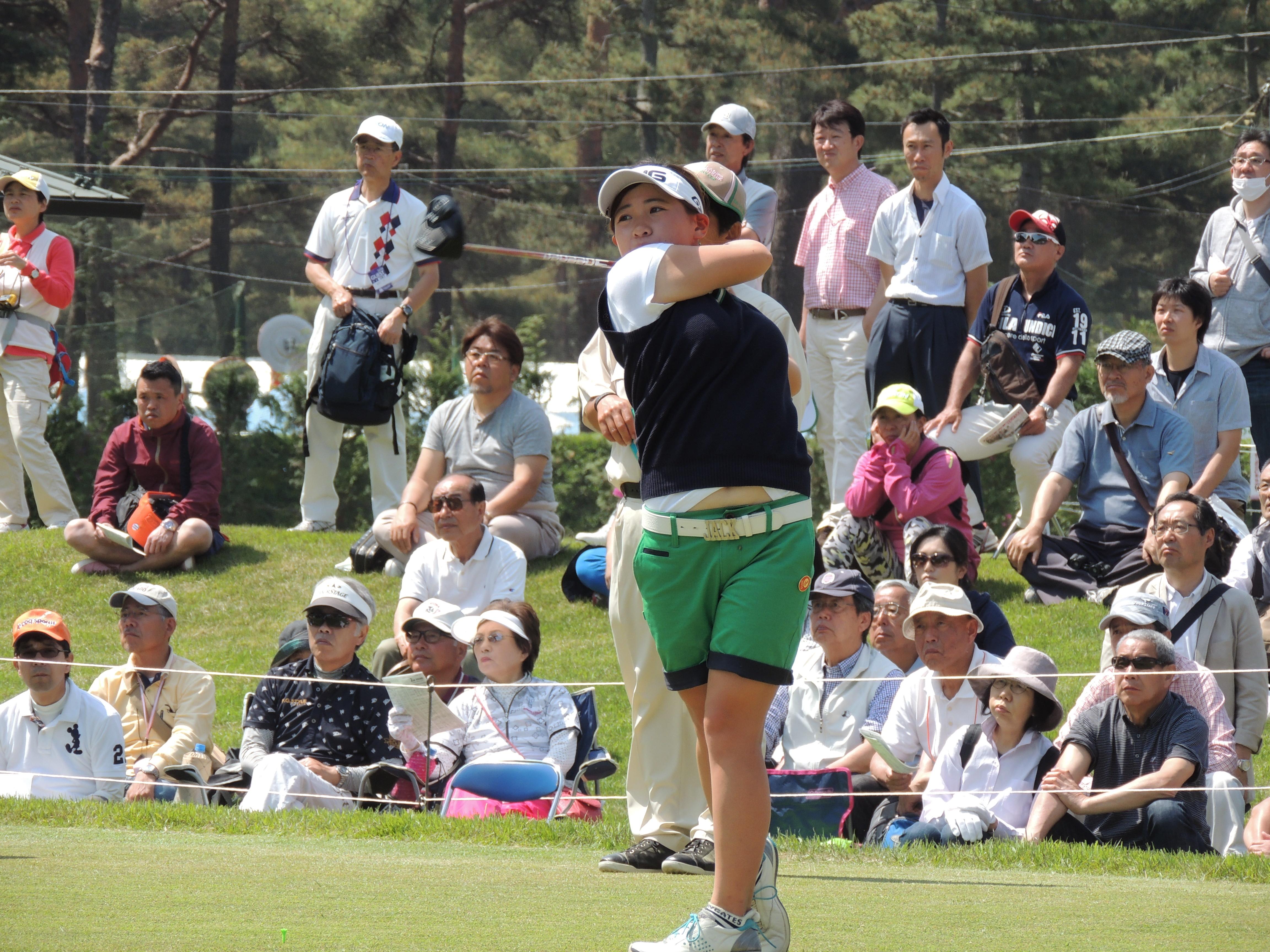プロ ゴルフ テスト 女子
