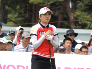 2年連続賞金女王のイ・ボミ(韓国)は今季、やや不調だが・・。