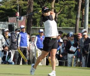 「不屈の女」腎臓がんから蘇ったイ・ミニョン(25=韓)開幕戦を制して早くも来日3勝目。