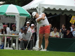 米ツアーの賞金女王にもなった申ジエ(韓)、いまは日本での女王を狙う実力派