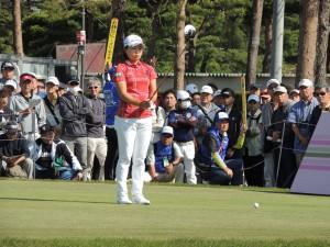 このオフ、1日300球から600~700球と倍増の球数を打った永峰咲希。一段と飛距離を伸ばして ツアー初優勝への原動力になった。