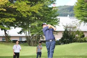 昨年度(平29)の全日本ミッドアマゴルファーズ選手権(栃木・イーストウッドCC#1スタート風景)
